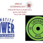 MONDAY 2.19.18 SPREAD GOODNESS: HEMATITE POWER PACKS